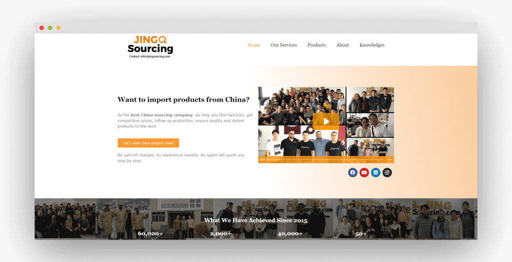 Figure 6 China Sourcing Agent JingSourcing