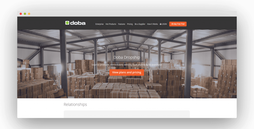 Figure 7 Best Dropshipping Suppliers Doba