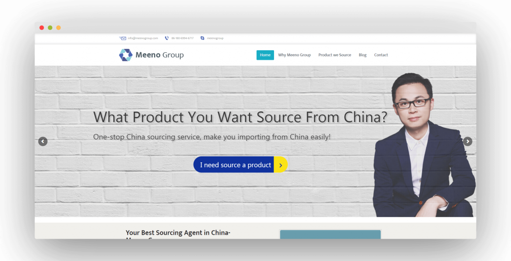 Figure 7 China Sourcing Agent Meeno