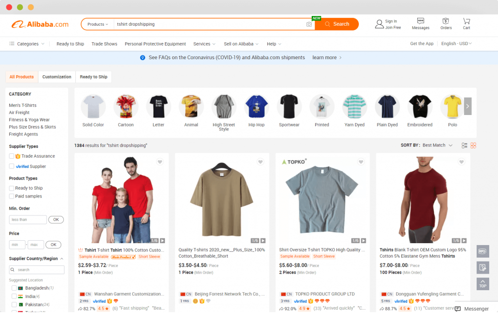 Figure 1 Is it possible to do alibaba dropshipping