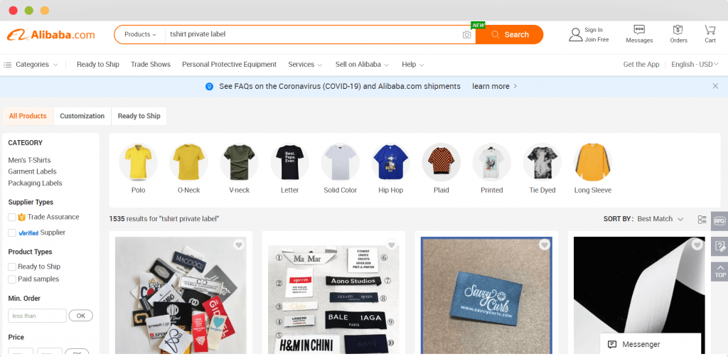 Figure 5 Do Private Label Dropshipping With Alibaba