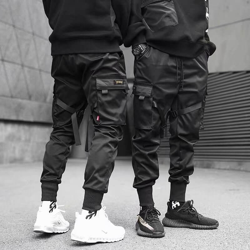 Hip Hop Boy Multi-Pocket Jogger