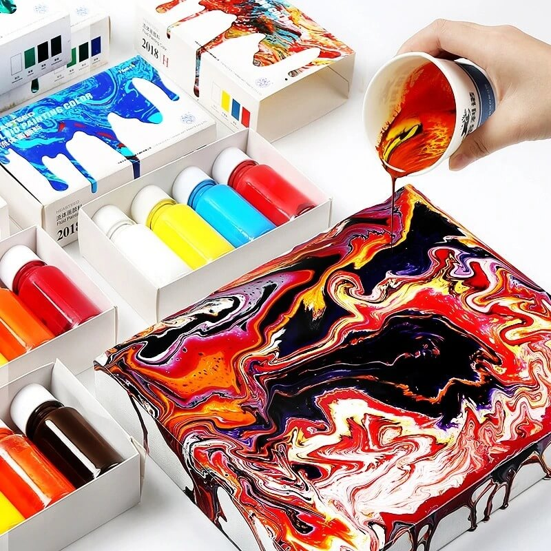 NicheDropshipping_Fluid Painting Paint Set