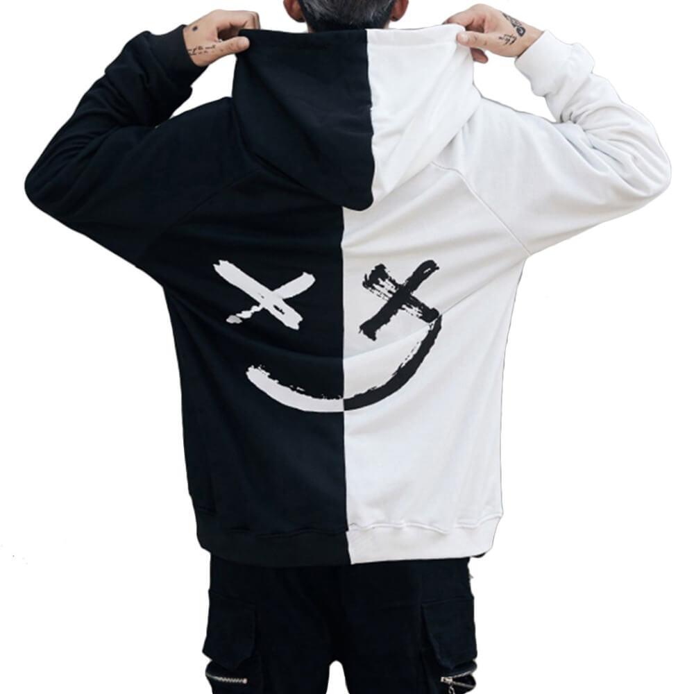 NicheDropshipping_Graffiti Smiley Hoodies Sweatshirts