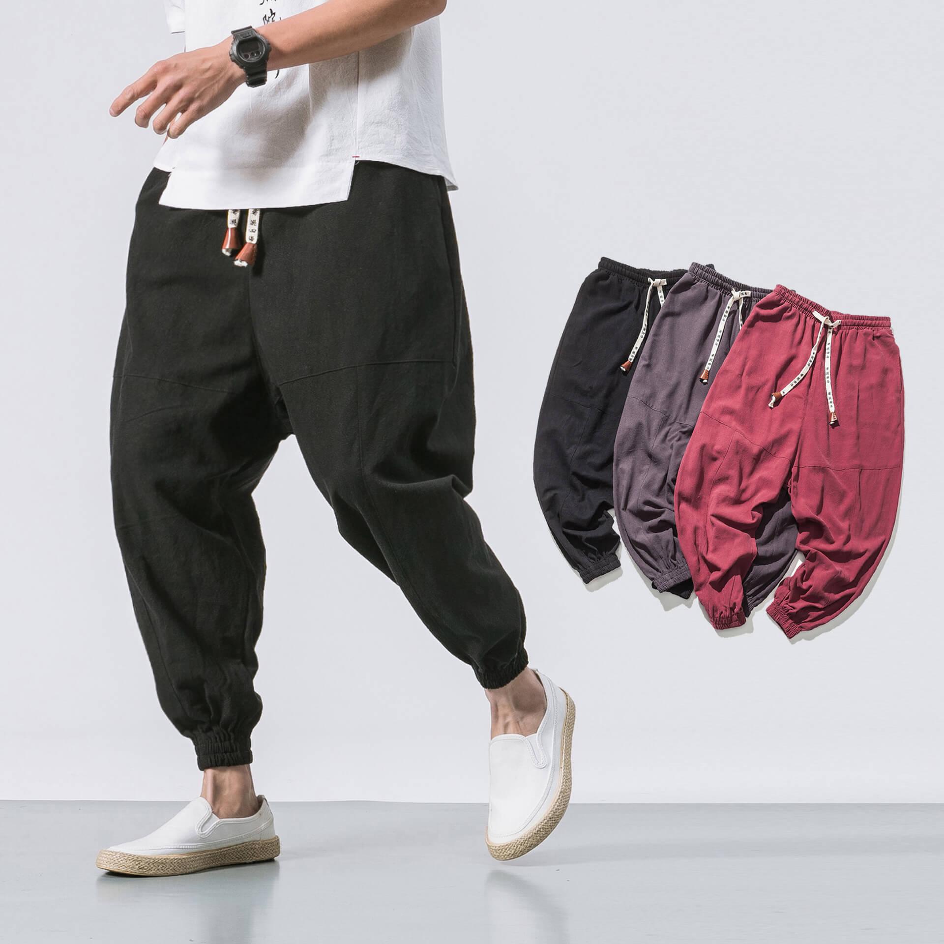 NicheDropshipping_Men Hip Hop Streetwear Pants