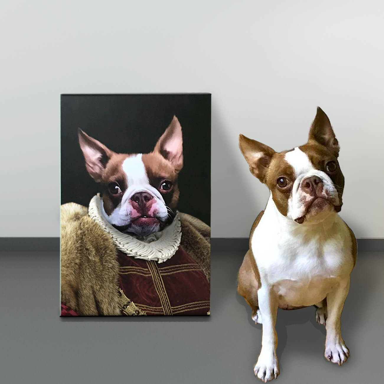 NicheDropshipping_Personalized Pet Canvas Portrait Image