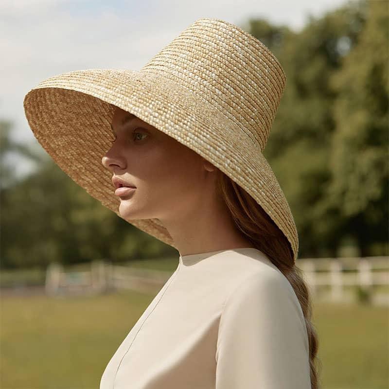 Wide Brim Beach Hat