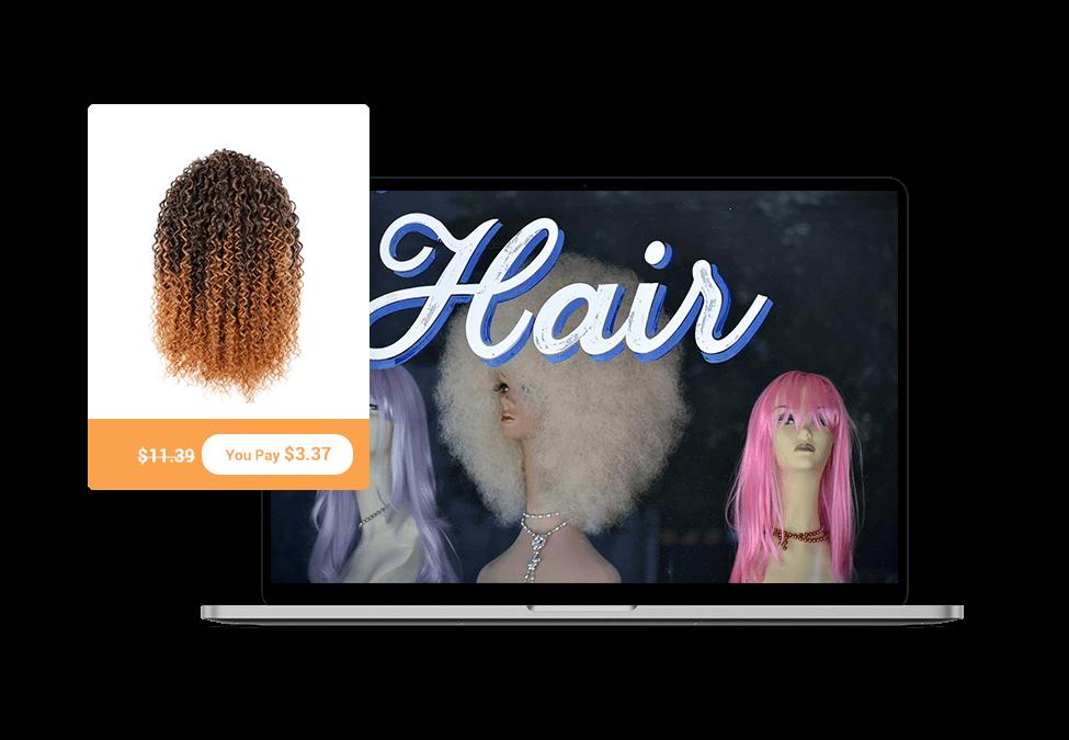 dropship wigs