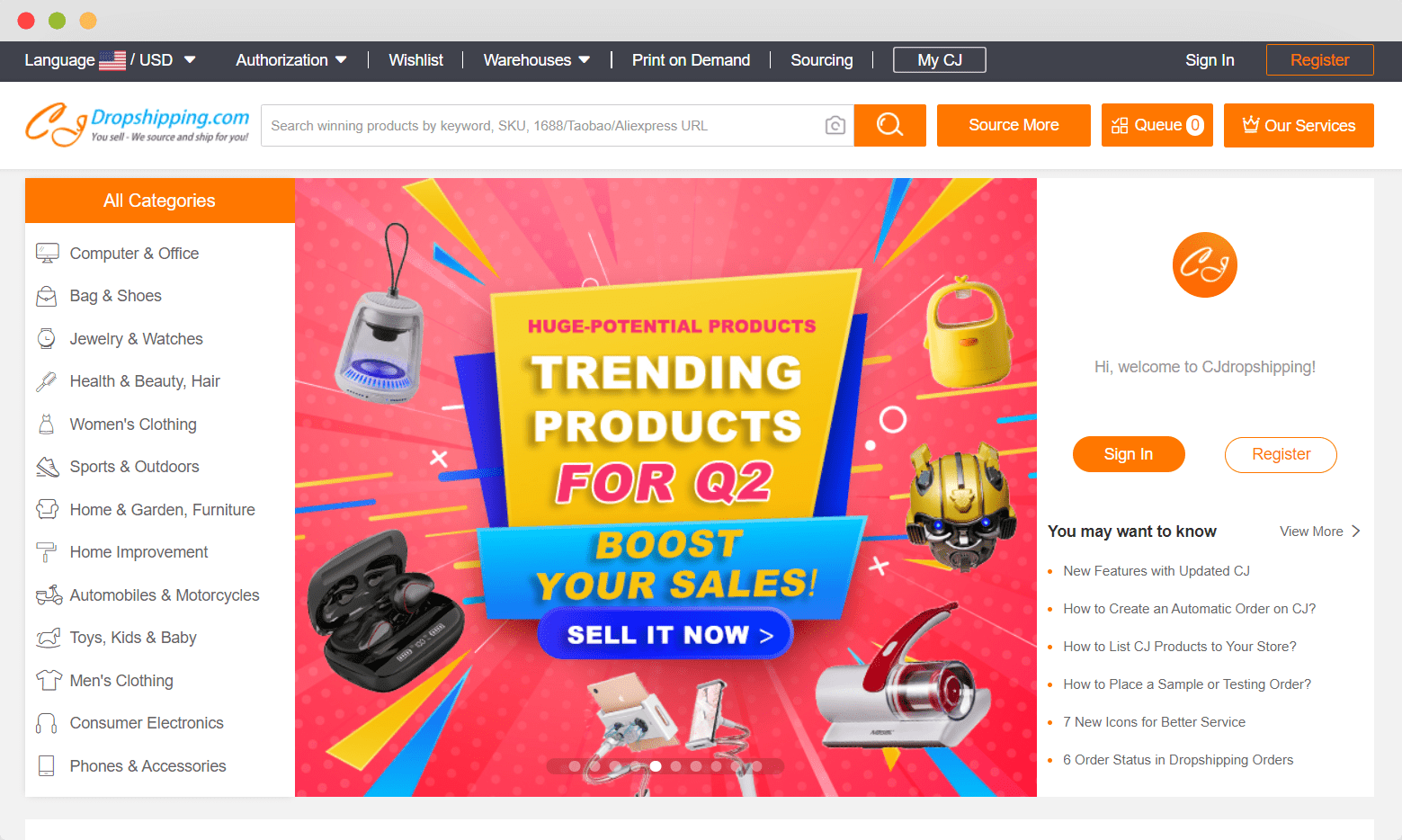 dropshipping suppliers germany