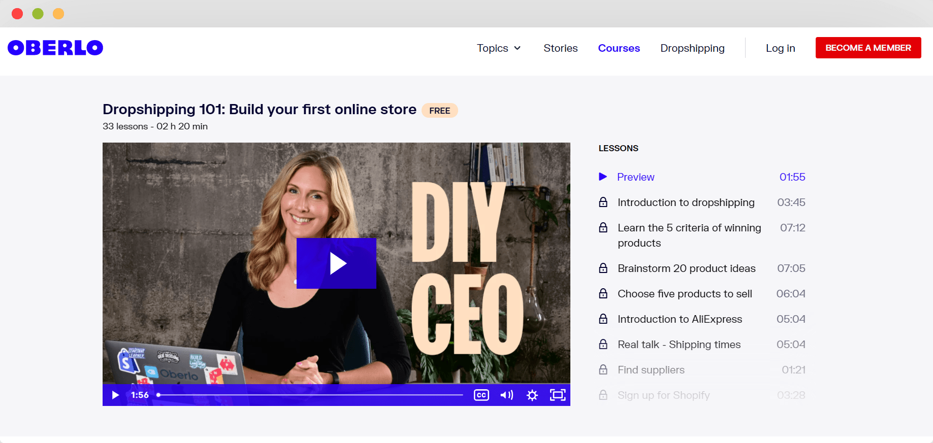 free dropshipping course
