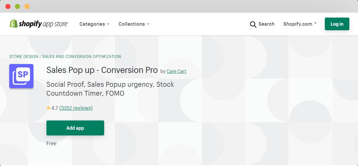 Sales Pop Up Conversion Pro