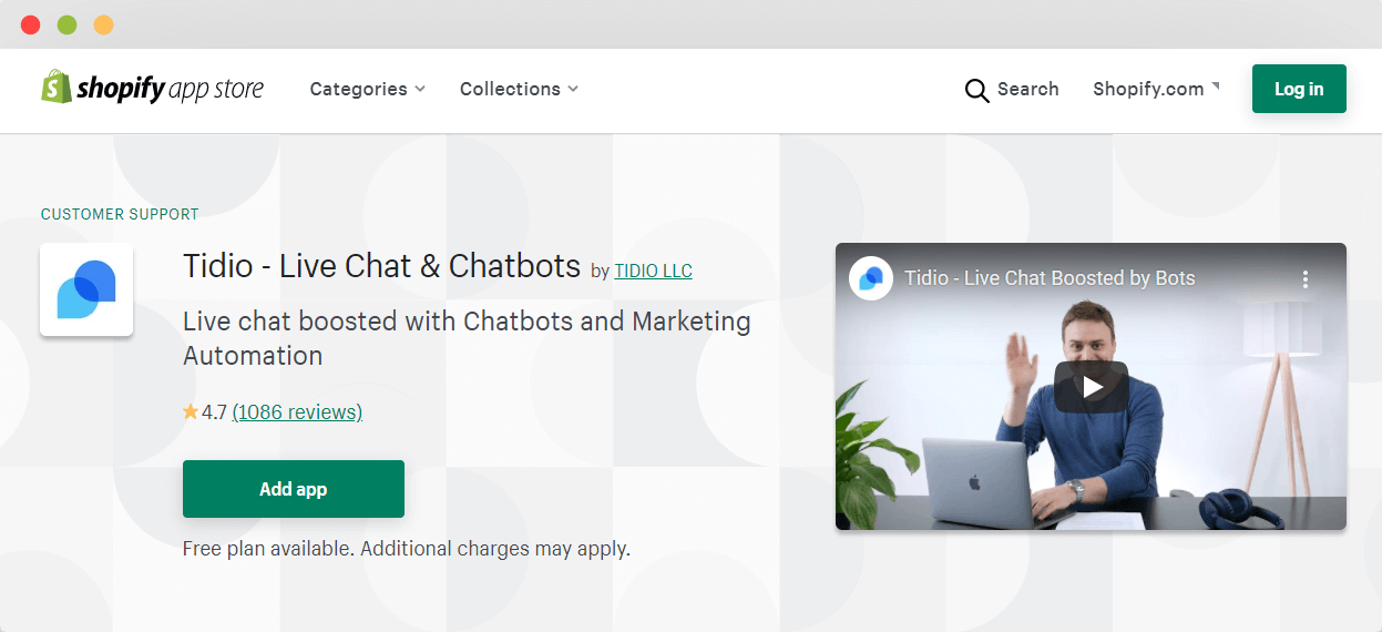 Tidio Live Chat and Chatbots