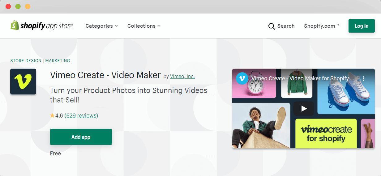 Vimeo Video Maker