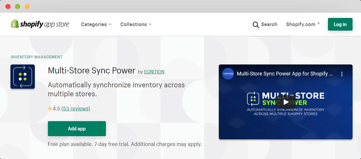 Multi Store Sync Power