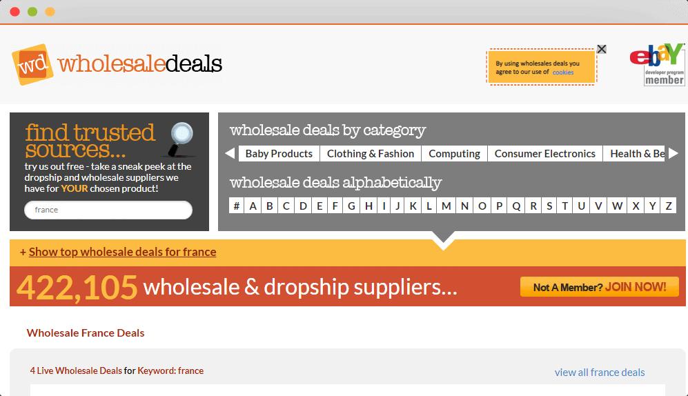 Figure 42 Wholesale Deals