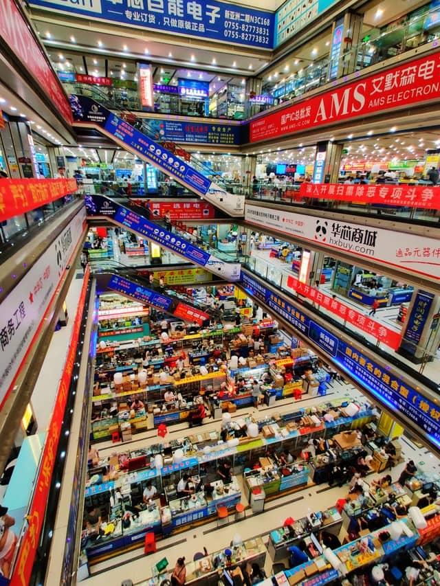 Biggest Wholesale Electronics Market in China