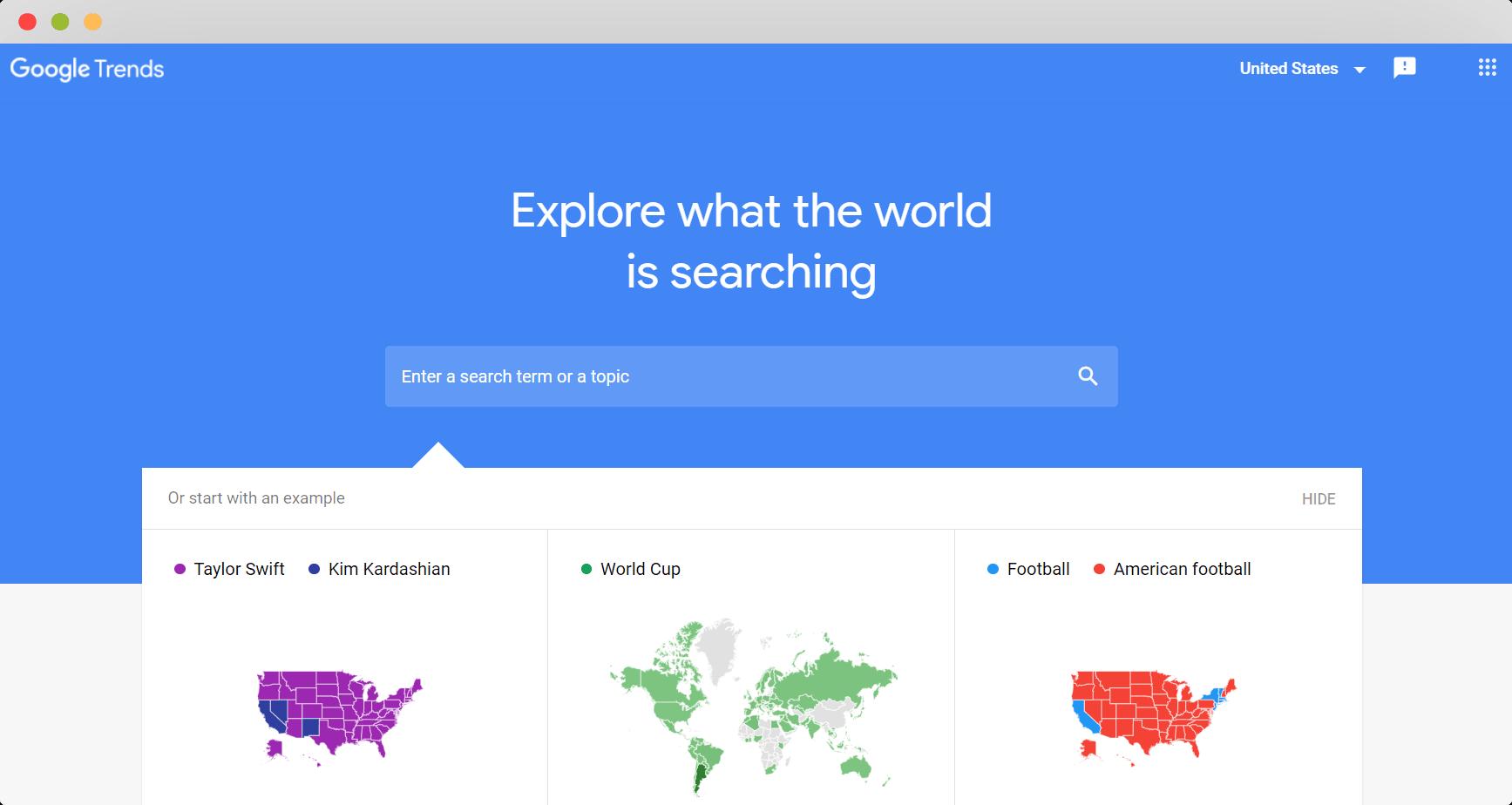 Figure 6 Google Trends