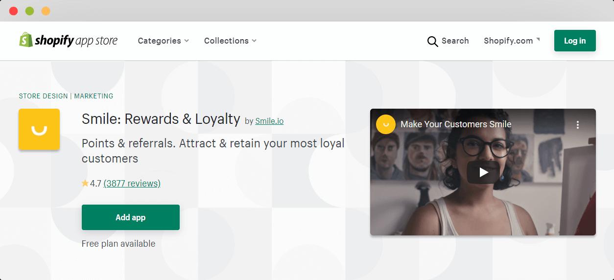 Smile Retain Your Loyal Customers