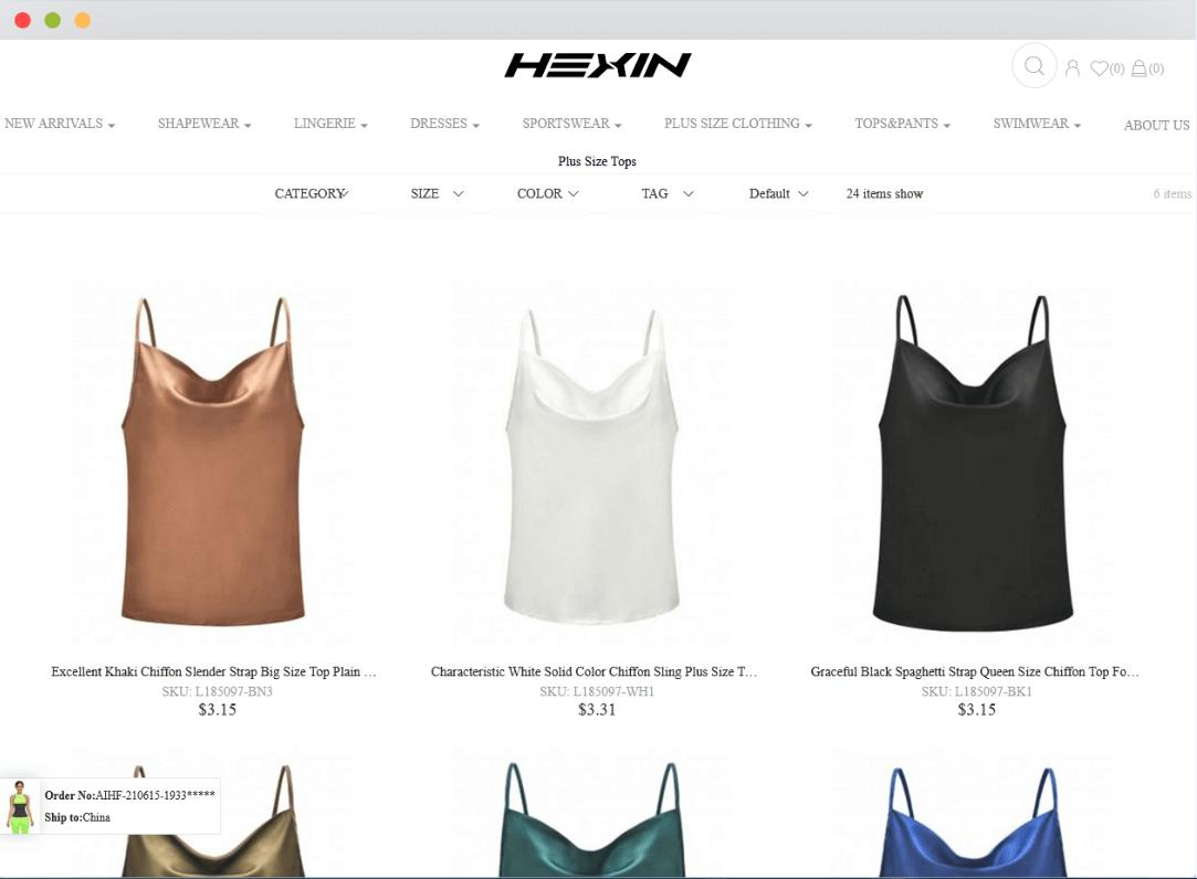 Hexin Fashion