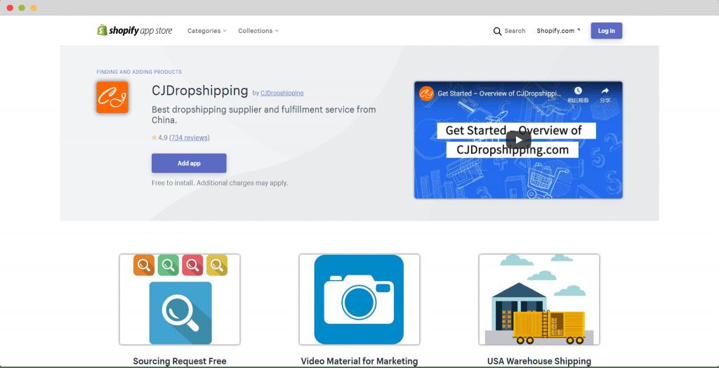 CJ Dropshipping App