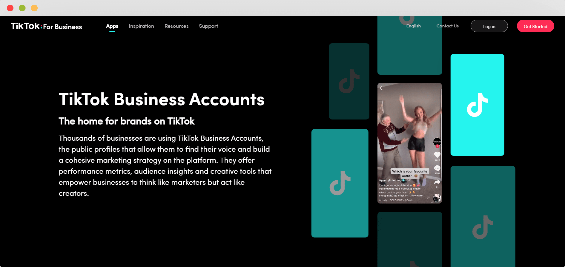 Tiktok Business Account