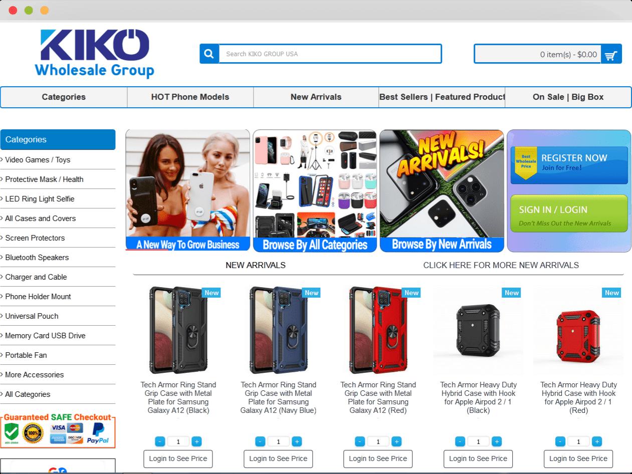 KIKO Wholesale