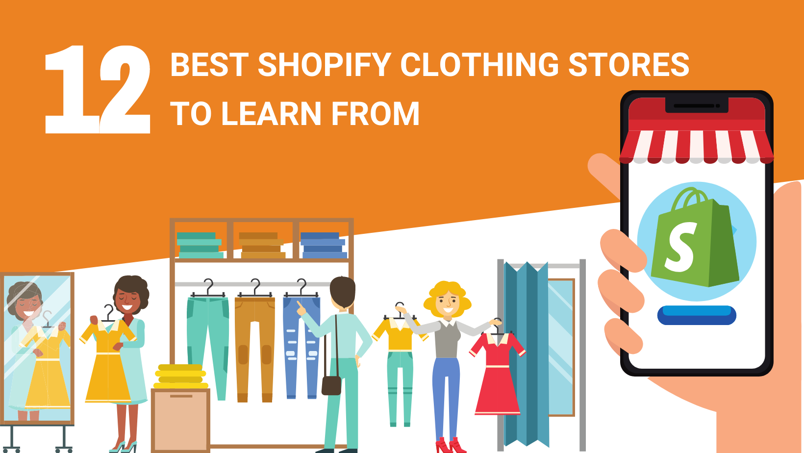 12 BEST SHOPIFY CLOTHING STORES TO LEARN FROM