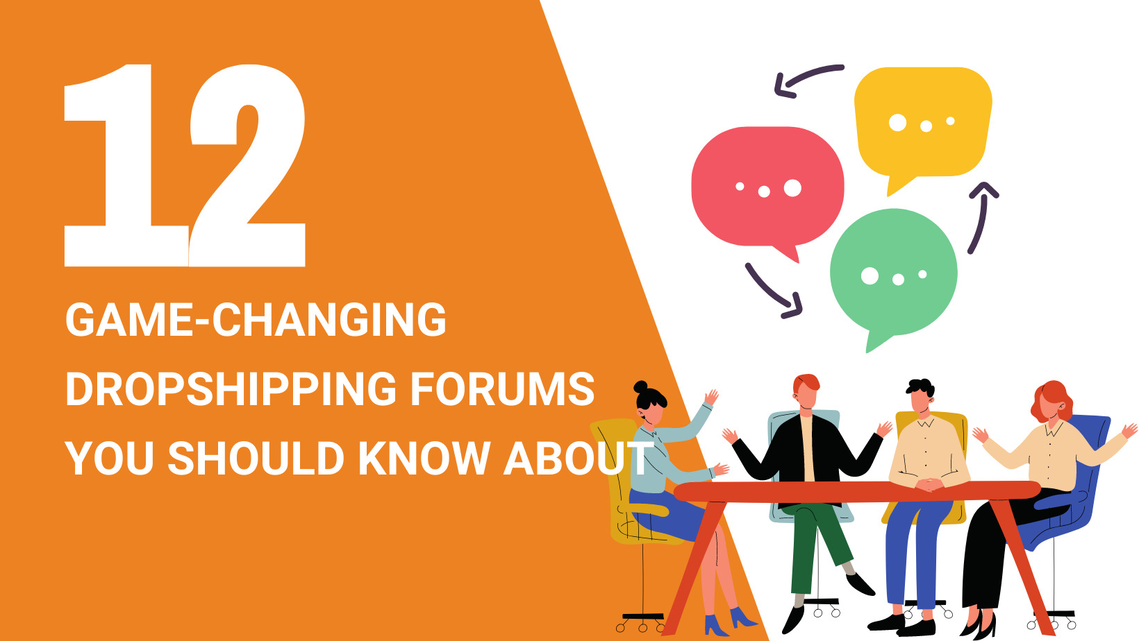 12 GAME-CHANGING DROPSHIPPING FORUMS YOU SHOULD KNOW ABOUT