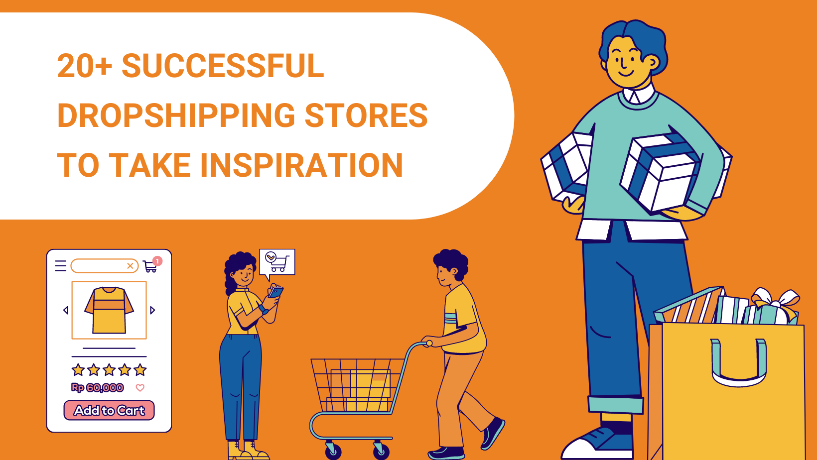 20+ SUCCESSFUL DROPSHIPPING STORES TO TAKE INSPIRATION