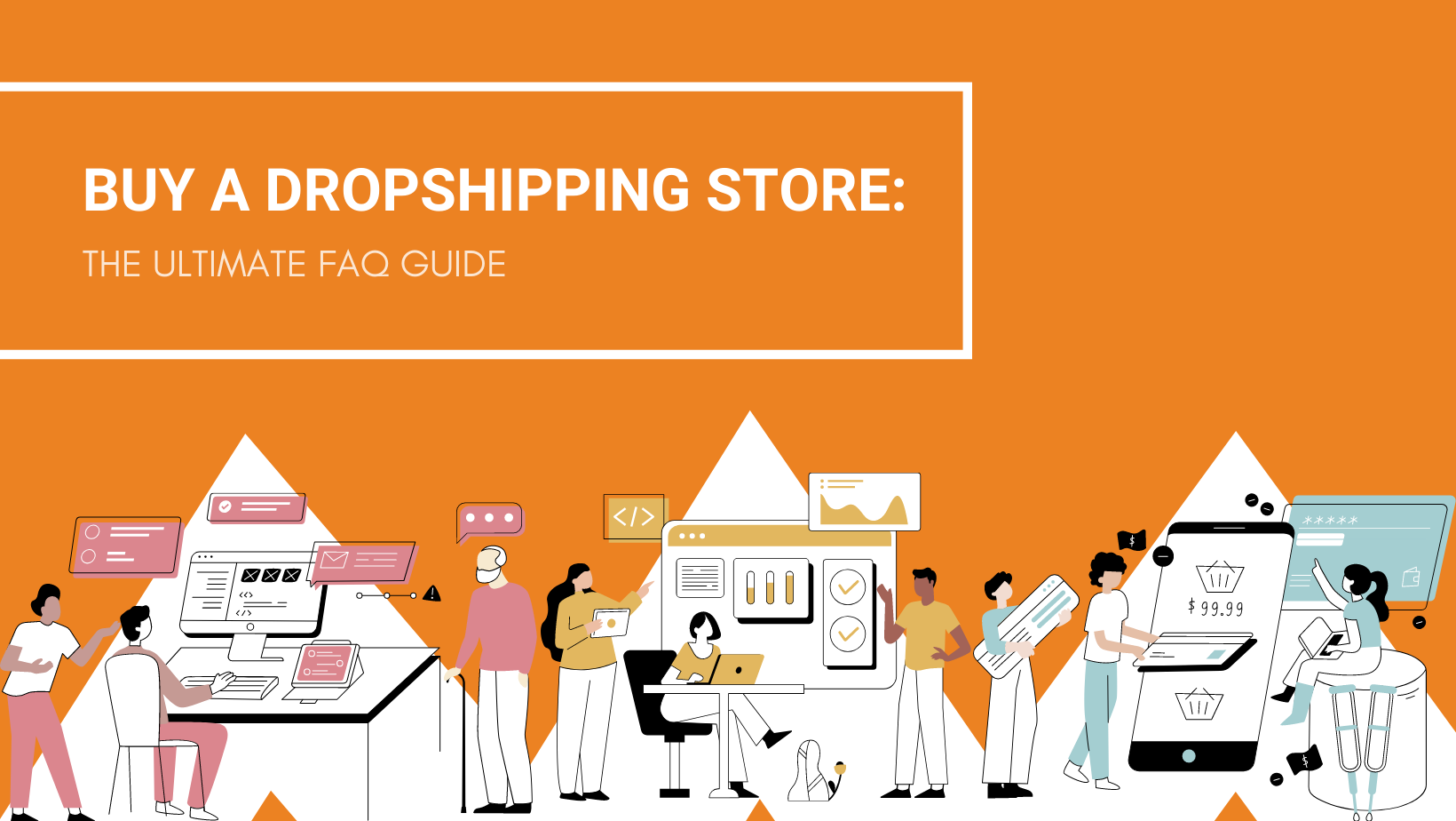 BUY A DROPSHIPPING STORE