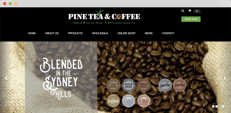 Pine Tea Coffee