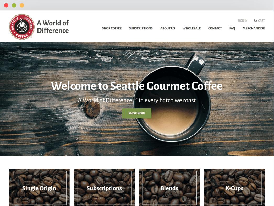 Seattle Gourmet Coffee