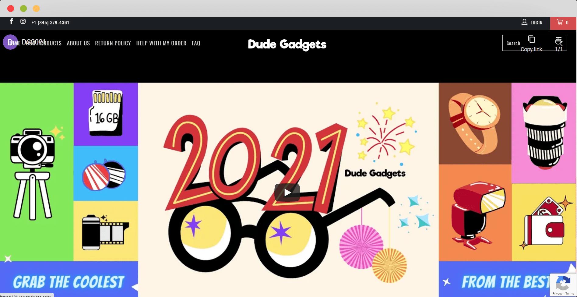 Dude Gadgets