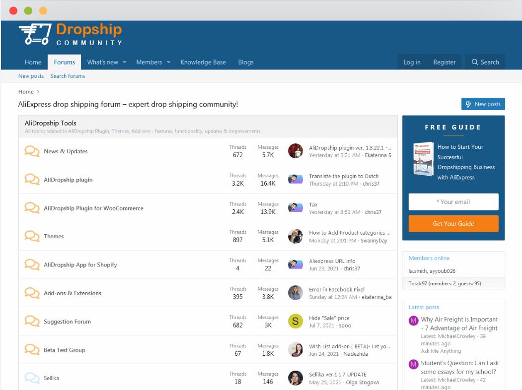 AliDropship Forum
