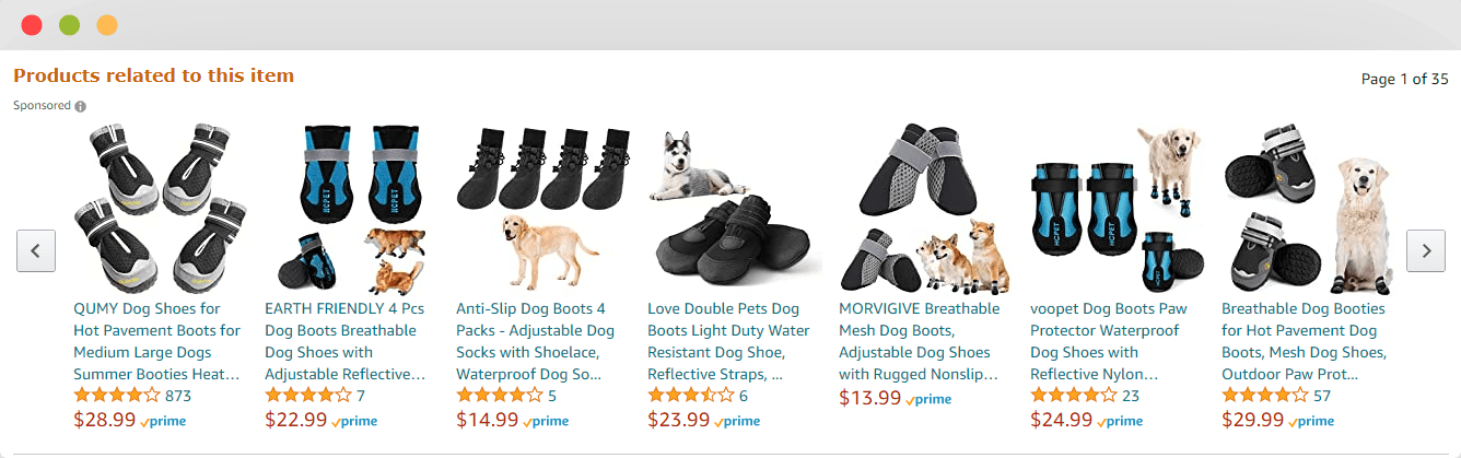 Amazon Related Products