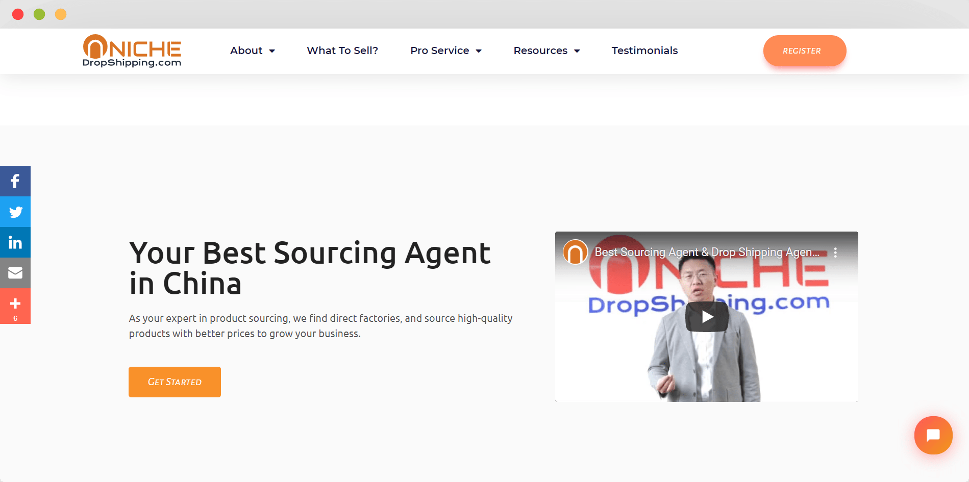 NicheDropshipping Product Sourcing Service
