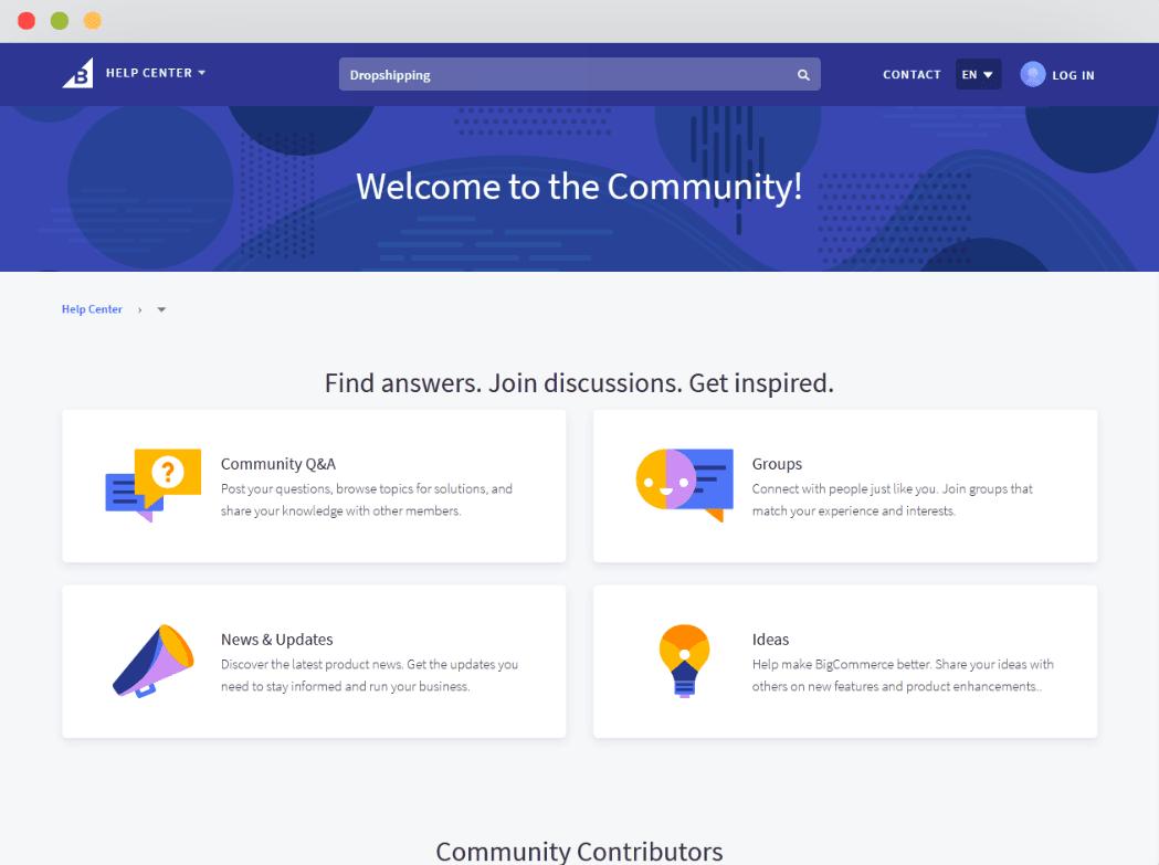 BigCommerce Community Forum