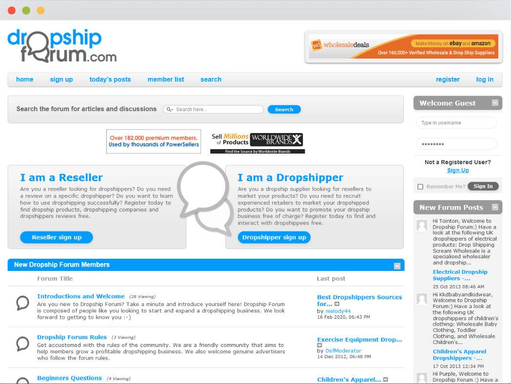 Dropship Forum