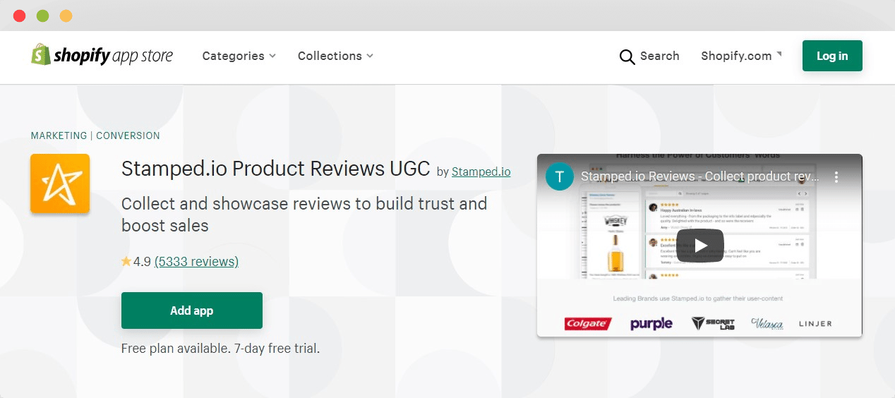 Stamped.io product reviews