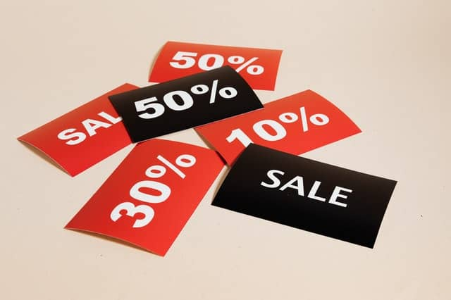Offer vouchers and coupons