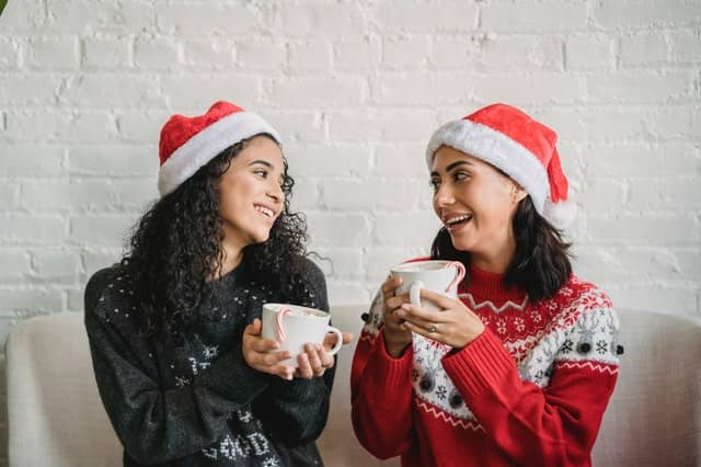 Christmas-themed clothing