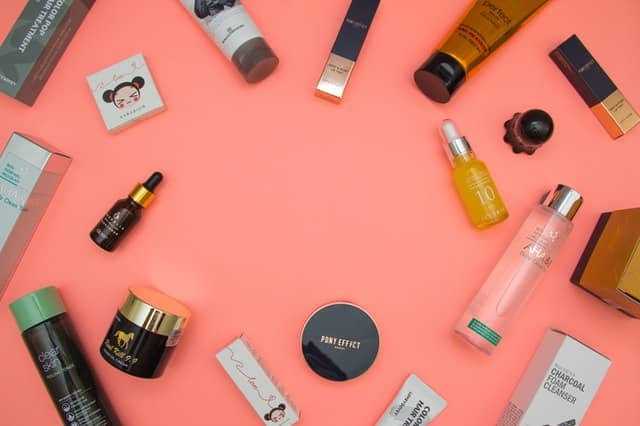 Travel-size self-care products