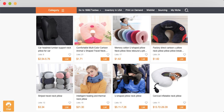 Comfort accessories